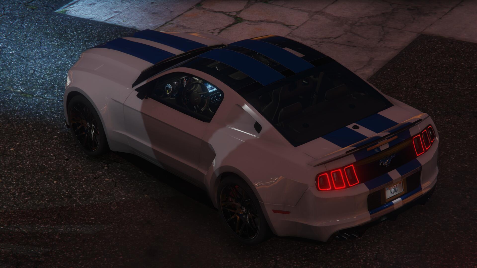 Ford Mustang Gt Nfs Gt500 2013 Add On Gta5 Mods Com